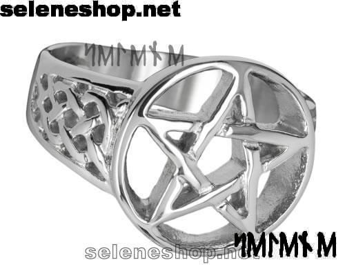 anello con pentacolo