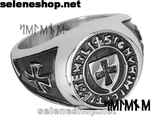 anello con croce templare
