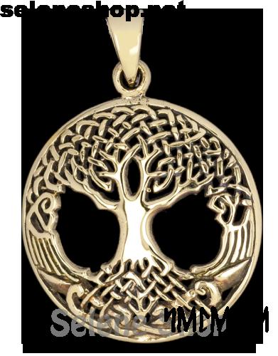 albero della vita in bronzo