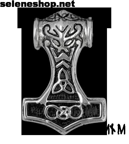 Martello di Thor Mjöllnir triskel
