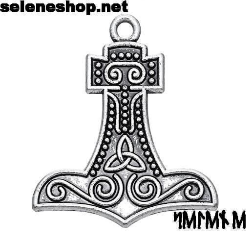 martello di thor con triskell
