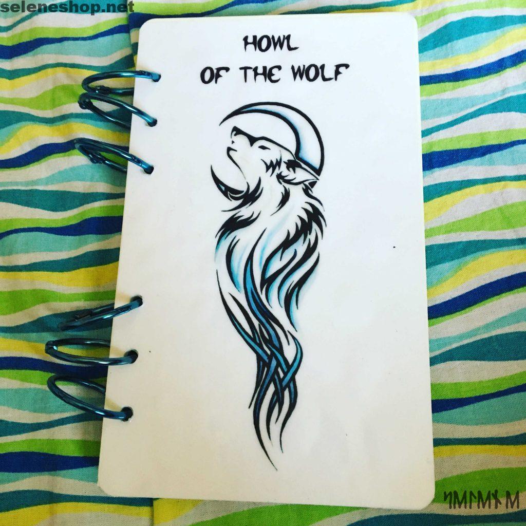 Libro delle Ombre Book of shadows wolf