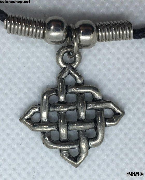 earth knot pendant