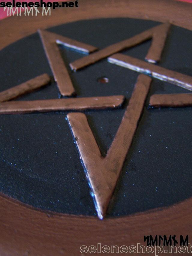 piattino brucia incenso bronzo