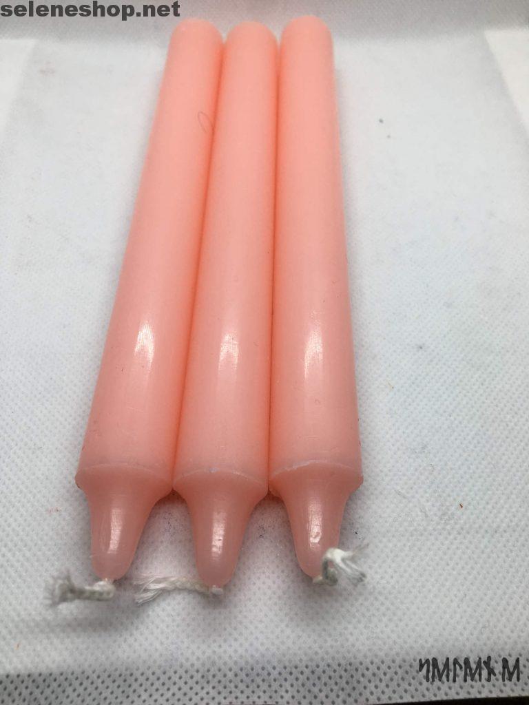 candele rituali rosa