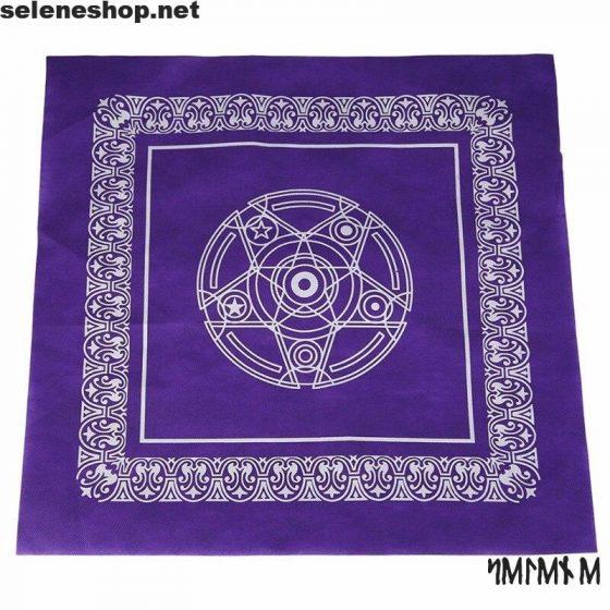 tovaglia divinazione pentacolo tarocchi rune sibille