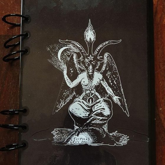 Libro delle ombre baphomet