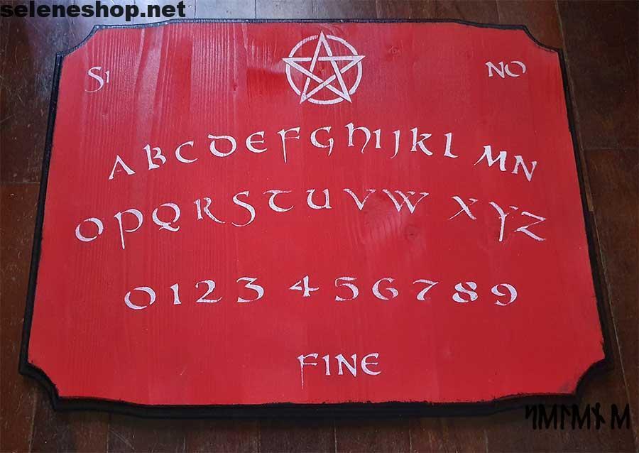 tavola ouija rossa