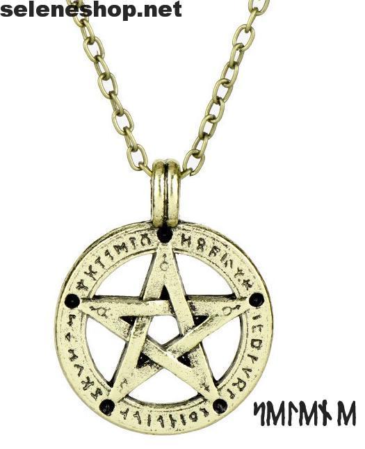 pentacolo rune oro