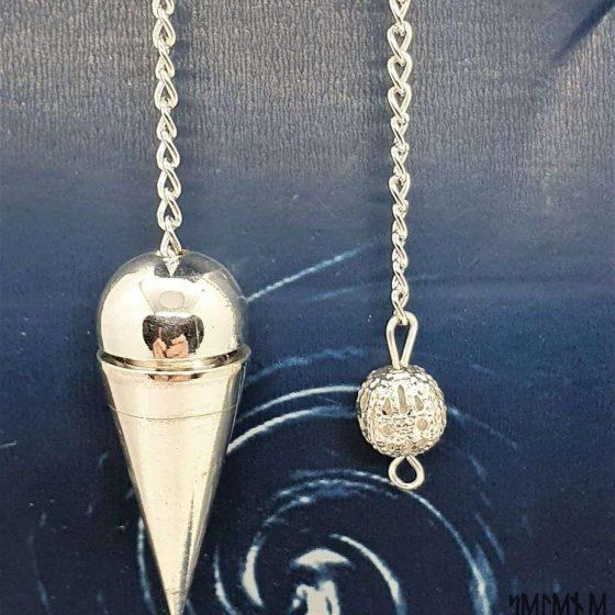 Pendolo classico cono argentato