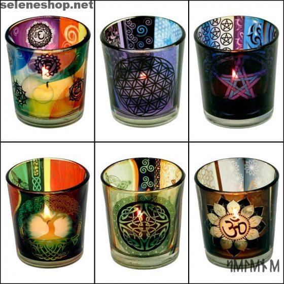 Porta candele esoterici