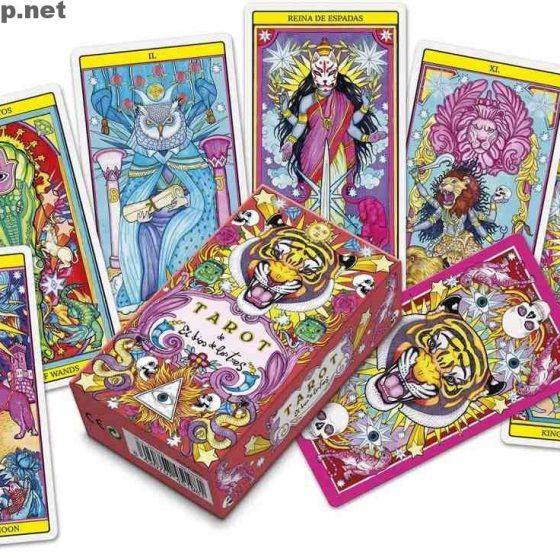 Tarot de El dios de los tres tarocchi