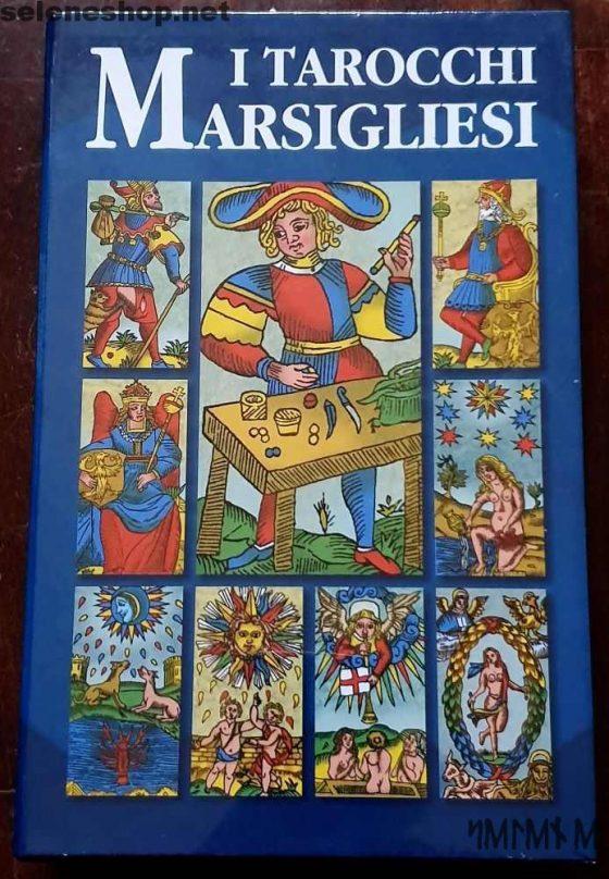 Cofanetto I Tarocchi Marsigliesi, mazzo più libro