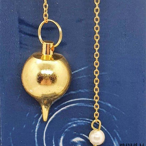 pendolo Sfera dorato deluxe