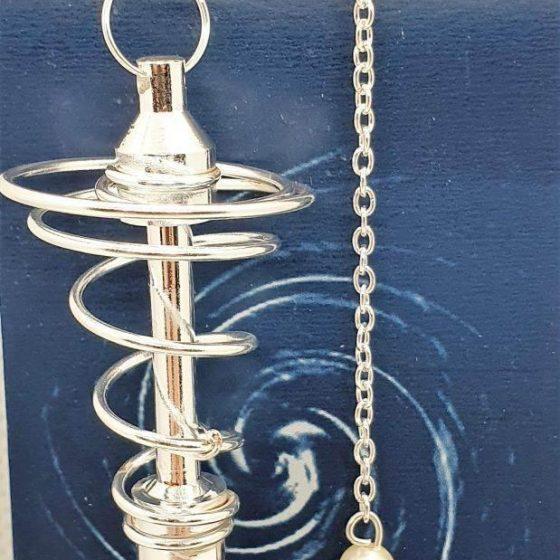 pendolo deluxe spirale argentato