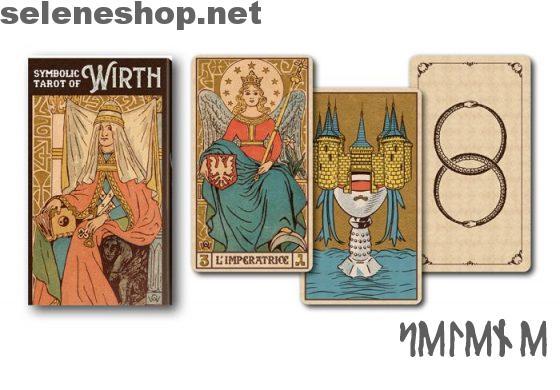 Symbolic Tarot of Wirth mazzo i tarocchi simbolici