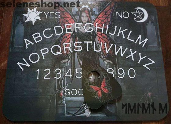 Ouija Arachnafaria spirit board