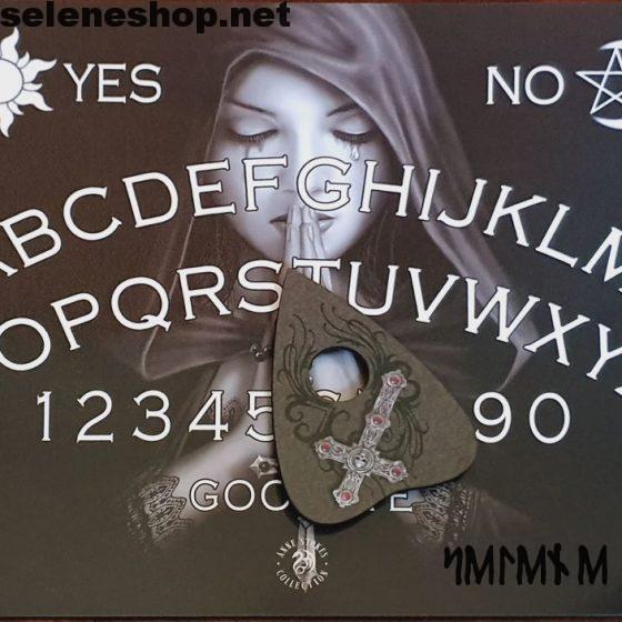 Gothic Prayer spirit board by Anne Stokes