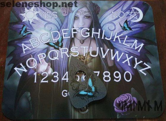 Tavola Ouija Mystic Aura spirit board by Anne Stokes-scatola