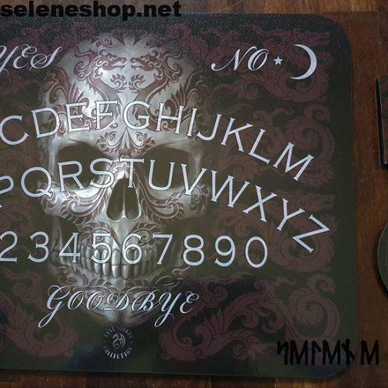 Tavola Ouija Oriental Skull Spirit Board-1