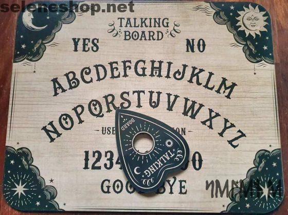 Ouija-Board im klassischen Stil sprechendes Brett