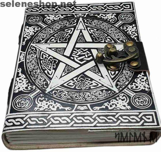 libro delle ombre pentacolo bianco