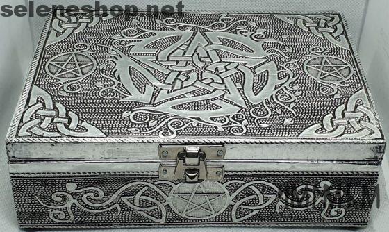 scatola pentacolo in alluminio