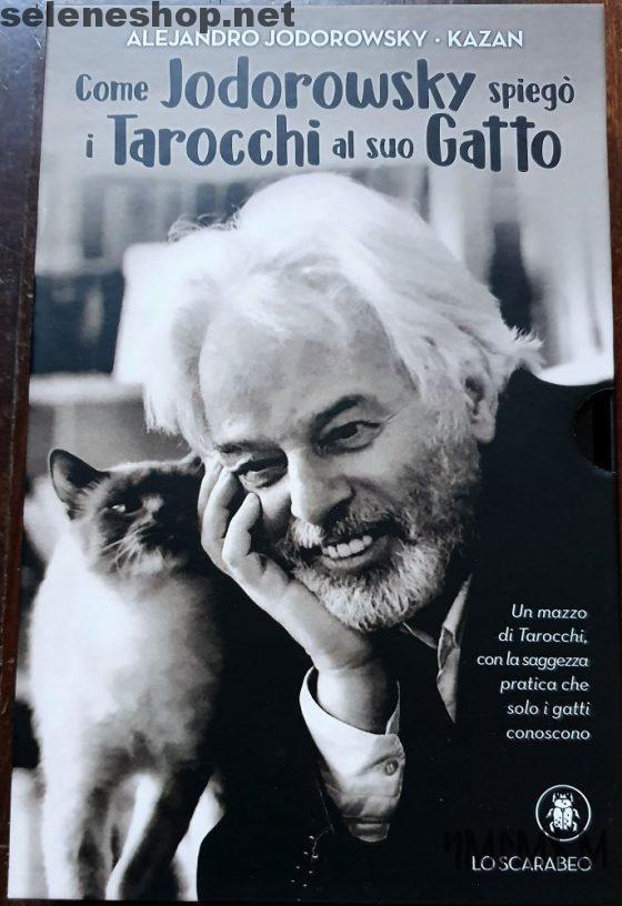 come jodorowsky spiego i tarocchi al suo gatto copertina