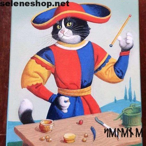 Tarot cats of Marseille