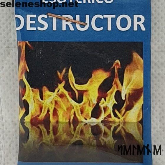 Esoterischer Staub der Zerstörung