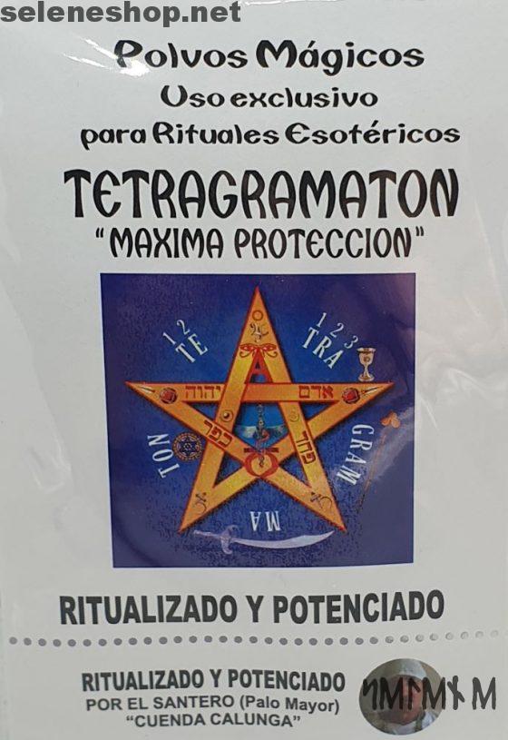 Tetragrammaton poudre ésotérique protection maximale