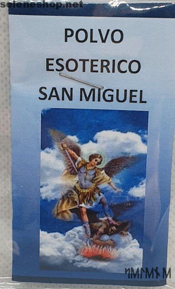 Arcángel Miguel polvo esotérico