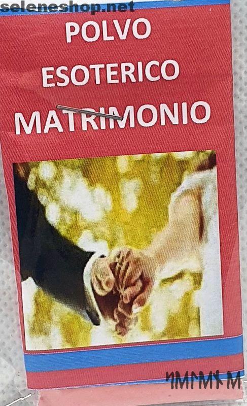 polvere esoterica matrimonio