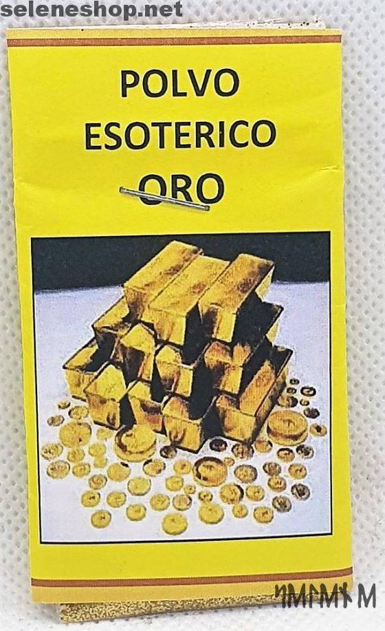 polvere esoterica oro attrai soldi