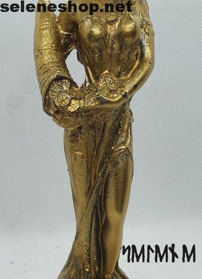 statua candela dea bendata della fortuna