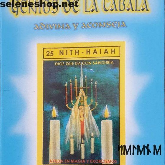 Tarot 72 ángeles Geni de la Cábala