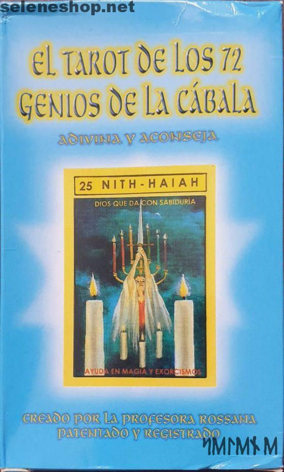 Tarot 72 Geni anges de la Cabale